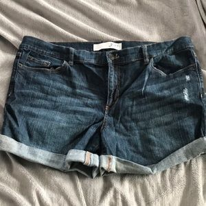 Jean shorts from JCP